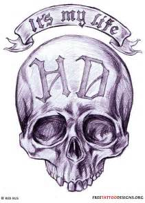 Into biker tattoos you ll also like our skull and tribal designs