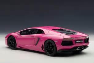 Lamborghini News Pink Lamborghini Aventador Scale Model Autoevolution