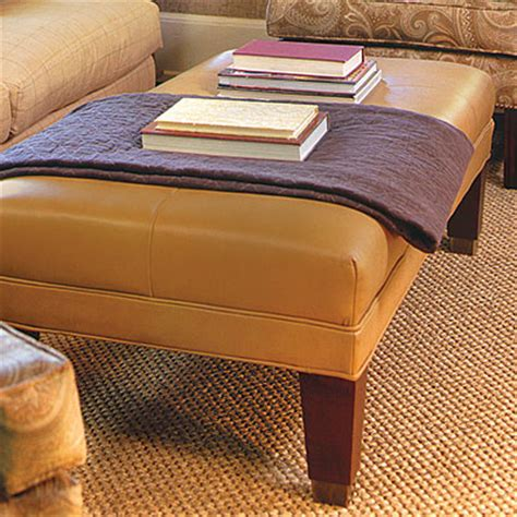 soft coffee table ottoman the smartest ways to use ottoman coffee tables in your home