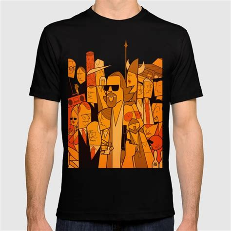 T Shirt Big And by The Big Lebowski T Shirt By Ale Giorgini Society6
