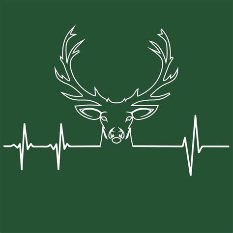 heartbeat hunting tattoo deer hunting heartbeat pin now read later pinterest