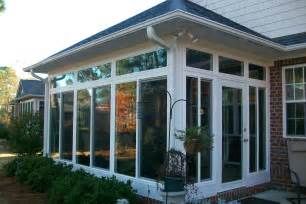 Sunrooms Raleigh Glass Sunroom 6 Porch Conversion