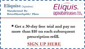free trial eliquis coupon card it up grill