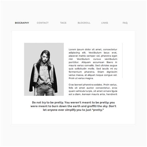 tumblr themes one page theme hunter tumblr s 1 source for themes
