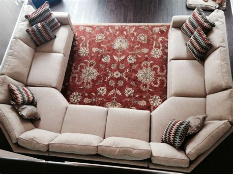 U Shaped With Recliner by Our New Sofa Inspired By The Crate And Barrel U Shaped