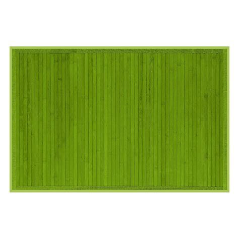 Tapis Salle De Bain Vert by Tapis 50x80 Vert Anis Cayenne Tapis De Bain Et