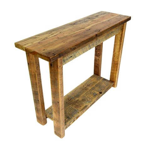 reclaimed wood entry table reclaimed entry table four corner furniture bozeman mt