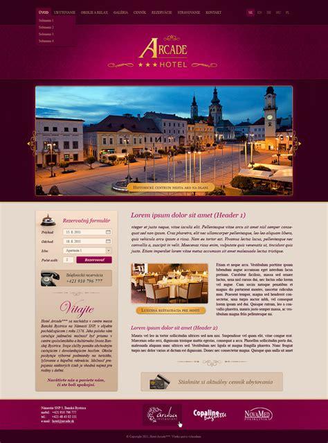 theme hotel free web arcade tvorba web str 225 nok web design dizajn aktualiz 225 cia