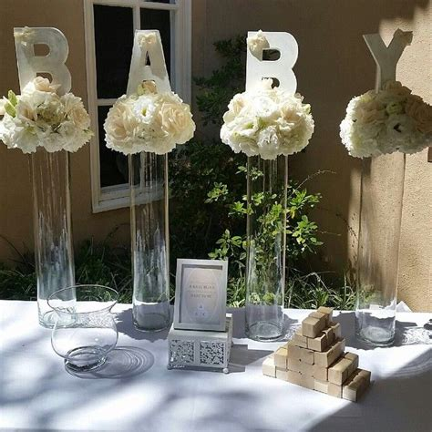 Fancy Baby Shower Decorations by 25 Best Ideas About Baby Shower Centerpieces On