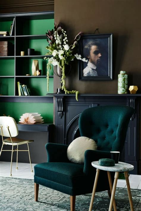 amazing green living room decorate with helkk