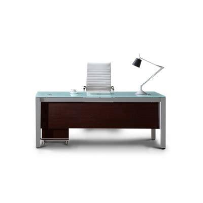 Modern Glass Top Desk Corp Designs Sling Series Glass Top Executive Desks Cd Sling S72