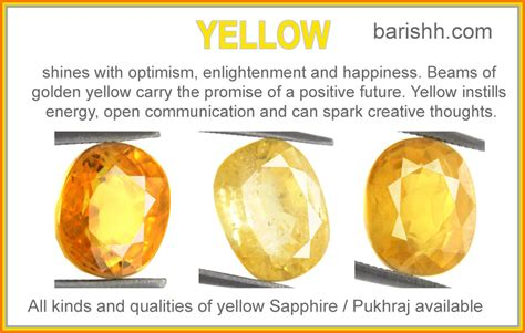 post yellow sapphire in gold or silver or panchdhatu