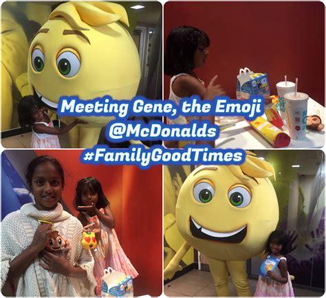 up film toys meeting gene the emoji at mcdonald s familygoodtimes