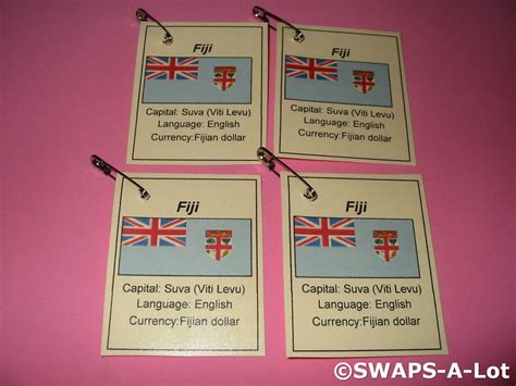 fiji crafts for mini fiji flag capital thinking day scout swaps