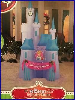 cinderellas castle disney inflatable projection outdoor christmas air blown christmas decor