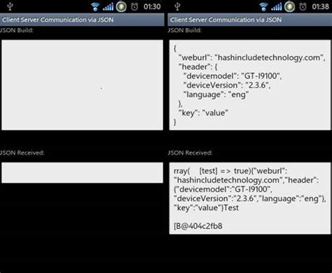 Android Jsonobject by Android Client Server Communication By Json 布布扣 Bubuko