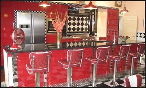 retro 50s diner decor 50s diner style furnishings see red pinterest