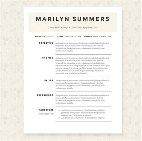 fonts for resume writing the 25 best resume fonts ideas on resume