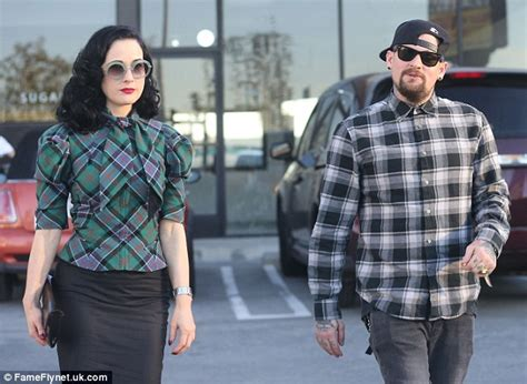 Dita Teese Is Not Friends With Ex Marilyn by Dita Teese And Benji Madden Look Cosy On A Sushi