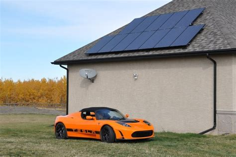charging tesla with solar panels solar is on the way to dominating the electricity market
