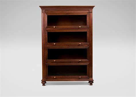 ethan allen bookshelves marshall barrister bookcase ethan allen