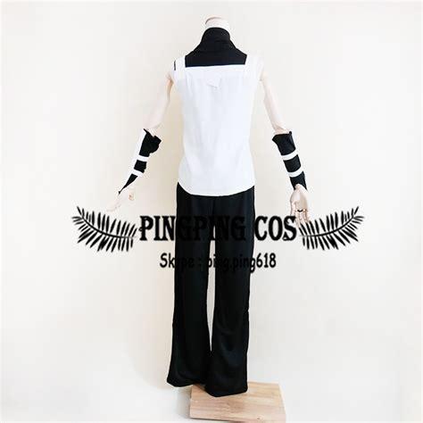 Jaket Harakiri Anbu Jaket Anime Kakashi 3 anbu hatake kakashi costumes suit set black