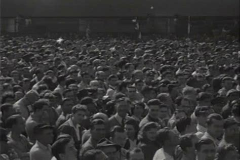 1950s newsreel story winston churchill visits the us stock footage 4018690