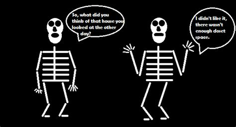 Skeleton In The Closet Meaning by Auld Comics Skeletons In The Closet