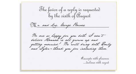 examples of rsvp cards for wedding reception rsvp card wording