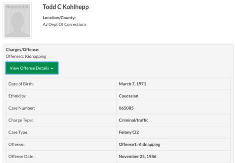 Todd Kohlhepp Criminal Record Todd Kohlhepp The Return Of The Serial Killer