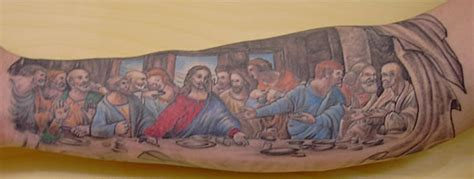 last supper tattoo last supper new 2 tats