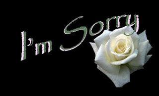 himpunan kata kata minta maaf  kekasih