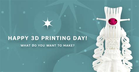 Sweepstakes Fine Print - celebrate 3d printing day with us and win 250 shapeways magazine