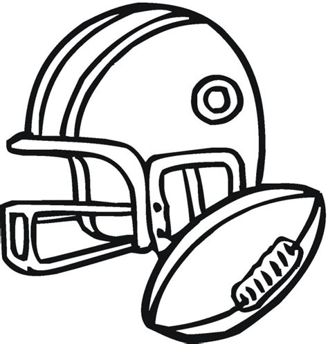 coloring pages sports football american football 3 coloring page