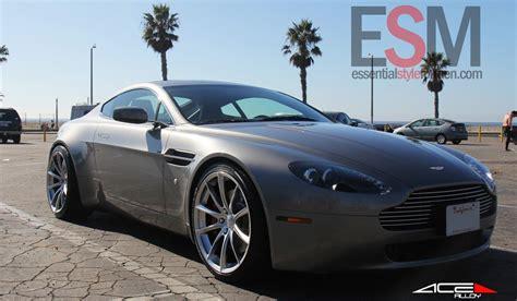 Wheels Aston Martin Vantage aston martin v8 vantage on ace convex wheels gtspirit