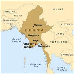 where is myanmar on the map health information for travelers to burma myanmar