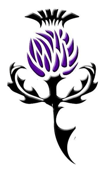 tribal thistle tattoo 25 best ideas about scottish tattoos on