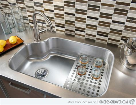 Design Of Kitchen Sink 15 Cool Corner Kitchen Sink Designs Home Design Lover