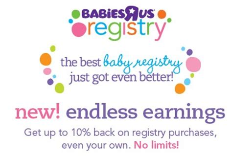 Babies R Us Registry Completion Gift Card - baby registry perks coupons freebies and rewards
