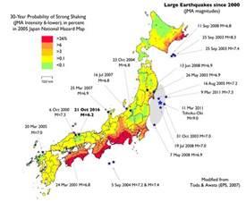 earthquake map volcano madness geology2 damaging japan earthquake