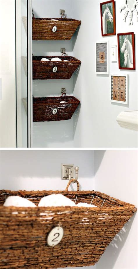 bathroom basket ideas best 25 diy bathroom baskets ideas on