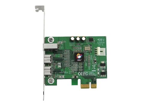 Siig Firewire 2 Port Pcie siig firewire 800 2x 9 pin 1x 6 pin 3 port pcie card