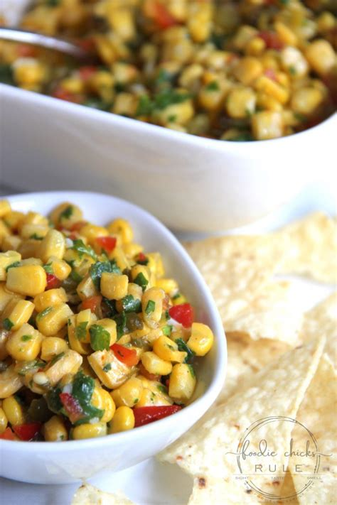 colorful corn colorful corn salsa for many dishes foodie