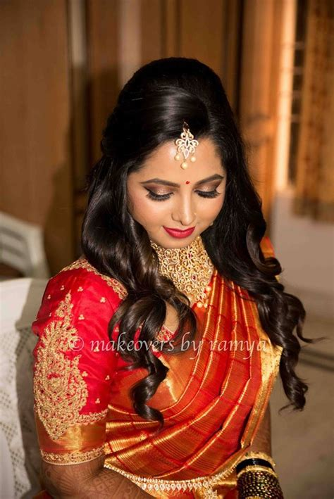 hairstyles for south indian reception south indian bride reception hairstyle south indian