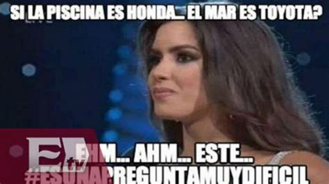 Vega Meme - los memes a las respuestas de paulina vega la nueva miss