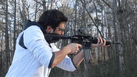 A Slower Speed Of Light M4 Carbine Slow Motion Firing Business Insider