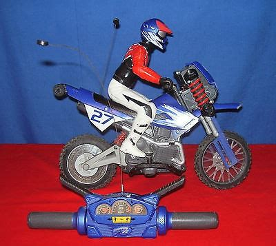 rc motocross bikes for sale tyco rc motorcycle remote control dirt bike 9 6 v for sale