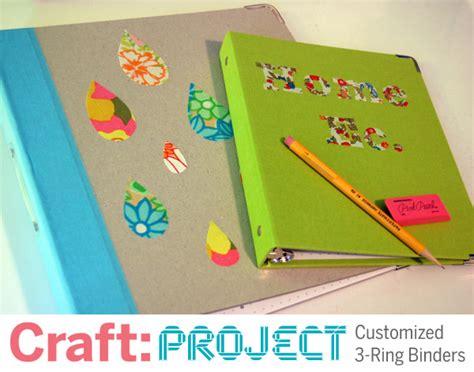 Binder Printing Barcelona 20 Ring craft project customized 3 ring binders make