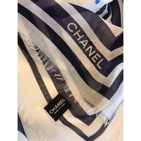 Chanel Scarf chanel scarf scarves ref 36812 joli closet