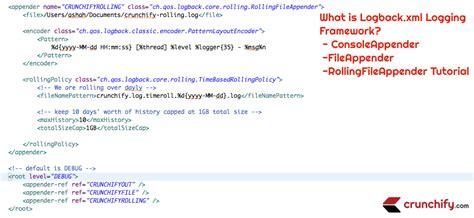 logback xml what is logback xml logging framework consoleappender